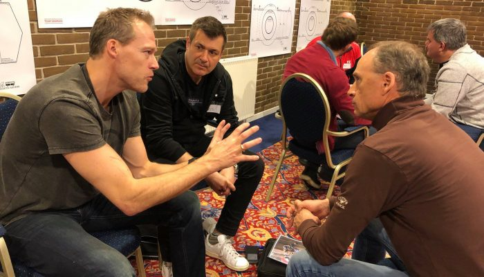 Linus på TD landstrænerkursus
